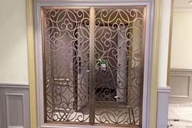 进门玄关、阳台通道处为什么要安装不锈钢镂空屏风?