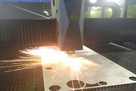 不锈钢激光屏风是怎么加工的?激光屏风切割过程视频