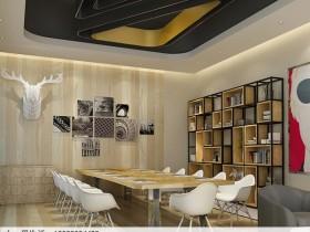 不锈钢办公室隔断屏风架子经典场景搭配效果图