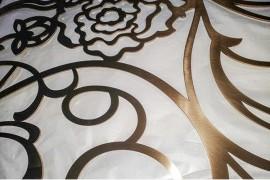 激光镂空的不锈钢屏风一般使用多厚的板材制作才合适?(欧式风格)