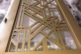 不锈钢屏风有什么表面处理工艺与相应效果?