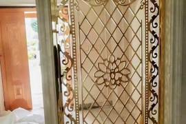 家装不锈钢屏风隔断安装固定方法