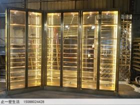 不锈钢酒柜定做常用的颜色有哪些?