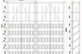 不锈钢酒柜可以定制多高?