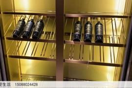 不锈钢酒柜放酒效果图