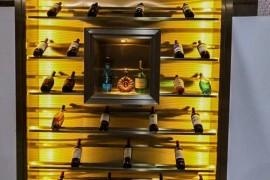 定制不锈钢红酒架尺寸设计说明