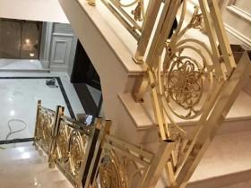 铝雕刻楼梯扶手设计应要注意事项