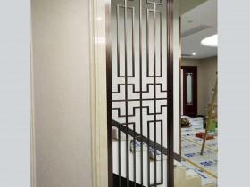 不锈钢屏风镀层修复方法
