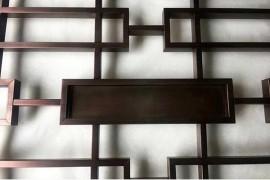 焊接红古铜不锈钢花格屏风
