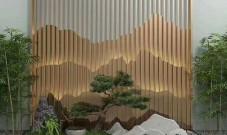 为什么山形不锈钢背景墙不锈钢山峦屏风这么受欢迎?