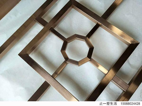 不锈钢屏风点焊焊接工艺细节效果图