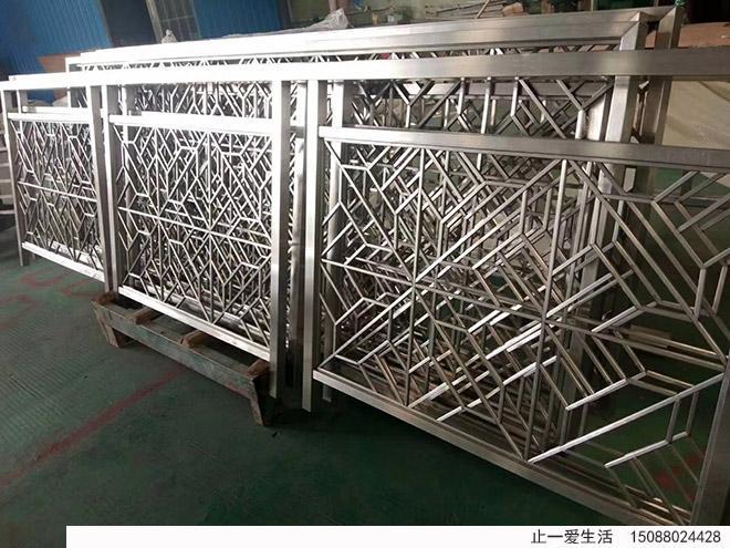 米字格不锈钢屏风护栏加工厂家