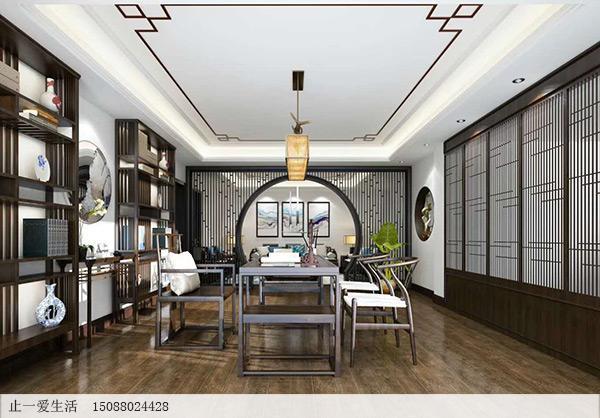 双层吊顶设计,更具有层次感,让家居空间不显得压抑.