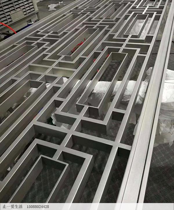 古铜不锈钢屏风5x30,15x30管满焊焊接工艺节点图