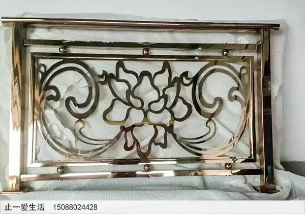 镜面欧式不锈钢护栏成品样式图片
