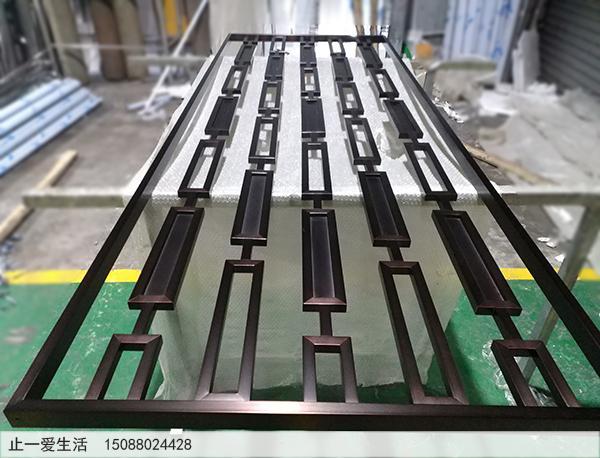 彩色不锈钢屏风制作厂家