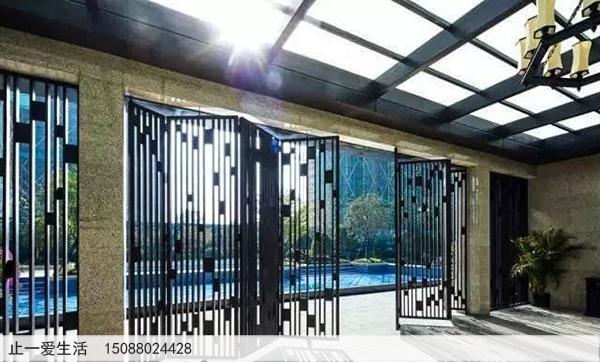 不锈钢庭院屏风_室外景观屏风图片14