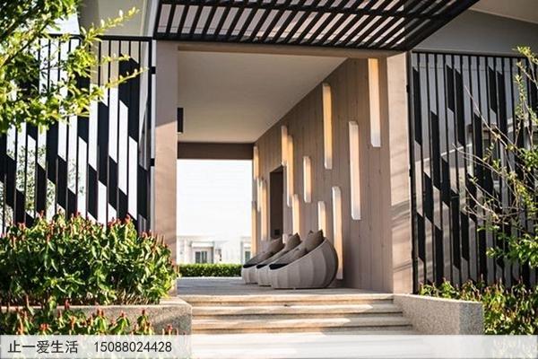 不锈钢庭院屏风_室外景观屏风图片15