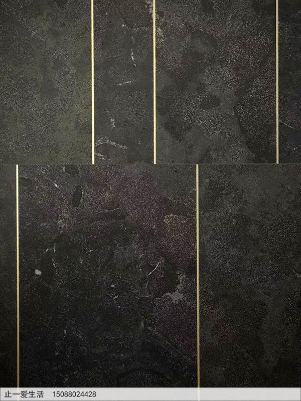T型不锈钢金属装饰压条大理石墙面装饰效果图