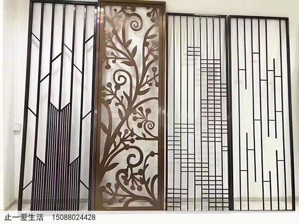 不锈钢板激光镂空花格样板图片1