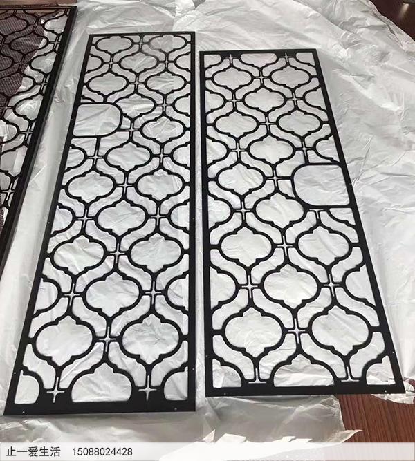 不锈钢板激光镂空花格样板图片4